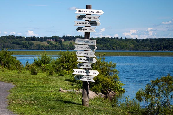 Esopus Meadows Beach Sign