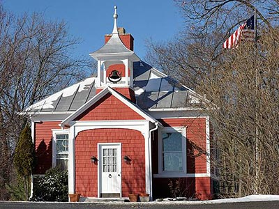 Old schoolhouse in Esopus NY